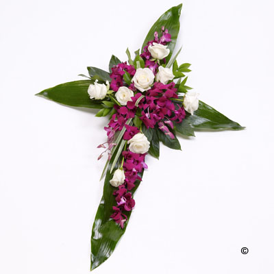 Rose & Aspidistra Cross