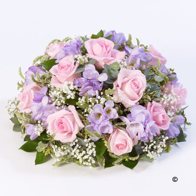 Rose & Freesia Posy - Pink & Lilac