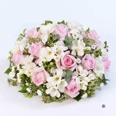 Scented Posy - Pink & White